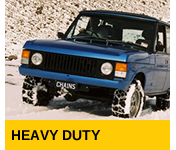 Snowsweat snow chains for Heavy Duty Vehicles