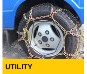 Snowsweat snow chains for Heavy Duty Utilities